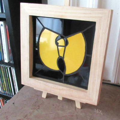 Tableau Wu-Tang Clan - 15x15 cm - Faïence (Carrelage)