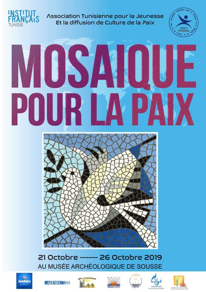 Mosaic for peace Tunisia