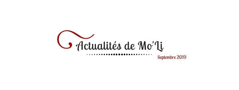 Actu- Septembre 2019